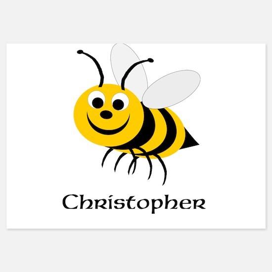 Bee 5x7 Flat Cards