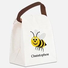 Bee Canvas Lunch Bag
