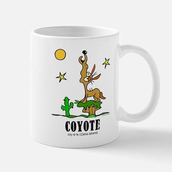 Unique Coyote Mug