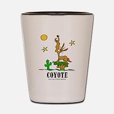 Cute Coyote Shot Glass