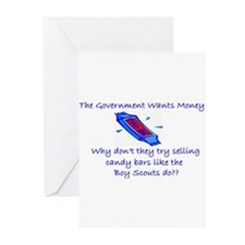 Candy Bars Greeting Cards (Pk of 10)