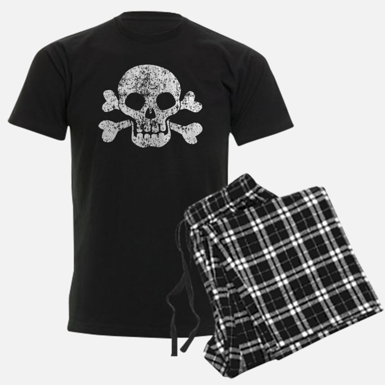 Worn Skull And Crossbones Pajamas