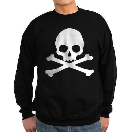 Simple Skull And Crossbones Sweatshirt (dark)