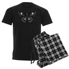 Gothic Skull Butterfly Pajamas