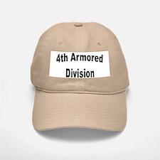4TH ARMORED DIVISION Baseball Baseball Cap