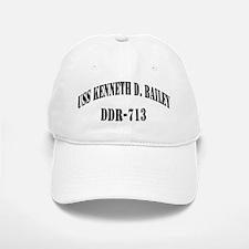 USS KENNETH D. BAILEY Baseball Baseball Cap
