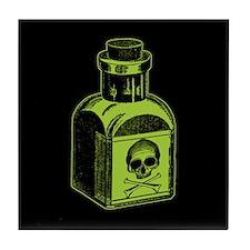 Poison Bottle Tile Coaster