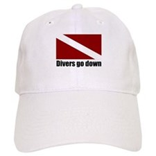 Divers go down Baseball Cap
