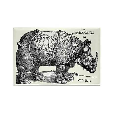Rhino Rectangle Magnet (100 pack)