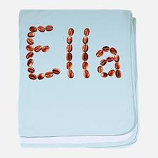 Ella Coffee Beans baby blanket