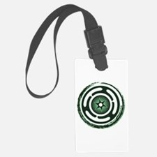Green Hecate's Wheel Luggage Tag