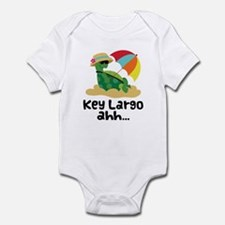 Key Largo Florida Turtle Infant Bodysuit