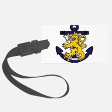 Finnish Navy emblem Luggage Tag