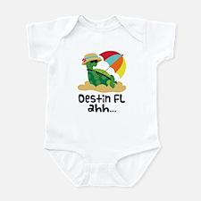 Destin Florida Turtle Infant Bodysuit