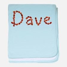 Dave Coffee Beans baby blanket