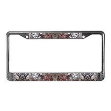 Magnolia License Plate Frame