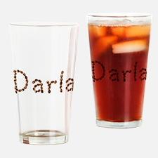 Darla Coffee Beans Drinking Glass
