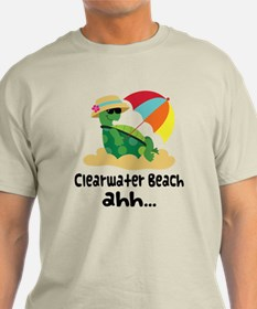 Clearwater Beach Turtle T-Shirt