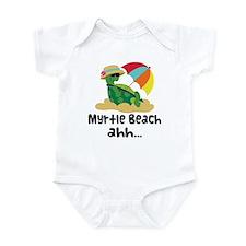 Myrtle Beach Turtle Infant Bodysuit