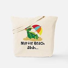 Myrtle Beach Turtle Tote Bag