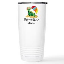 Myrtle Beach Turtle Travel Mug