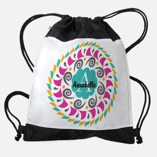 Personalized Monogrammed Gift Drawstring Bag