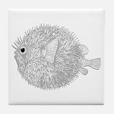Blowfish Tile Coaster