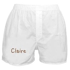 Claire Coffee Beans Boxer Shorts