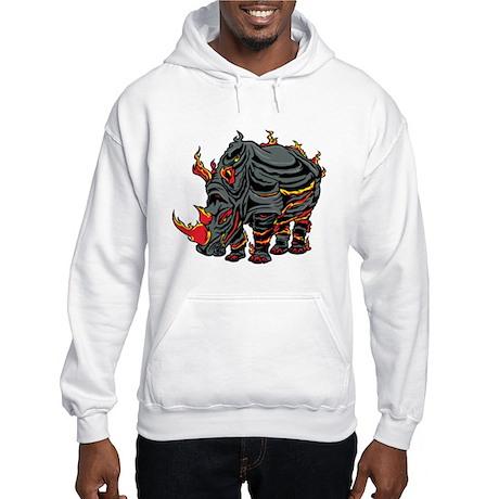 Melting Rhino Hooded Sweatshirt