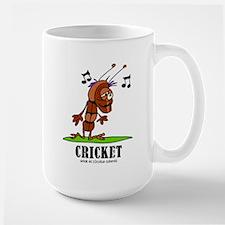 Cartoon Cricket by Lorenzo Mugs