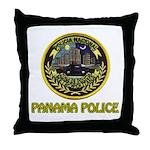 Panama Police Throw Pillow