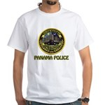 Panama Police White T-Shirt