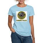 Panama Police Women's Pink T-Shirt