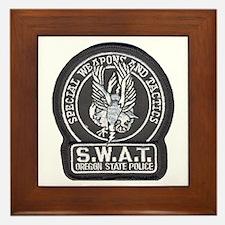 Oregon State Police SWAT Framed Tile