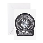 Oregon State Police SWAT Greeting Cards (Package o