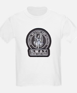 Oregon State Police SWAT Kids T-Shirt