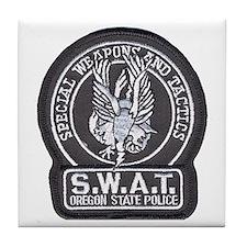 Oregon State Police SWAT Tile Coaster