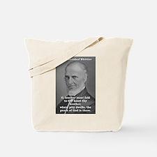 O Brother Man - John Greenleaf Whittier Tote Bag