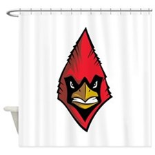 Cardinal Face Shower Curtain