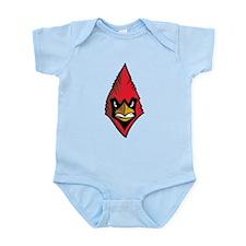 Cardinal Face Infant Bodysuit