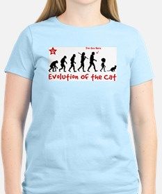 Evolution of the Cat - T-Shirt