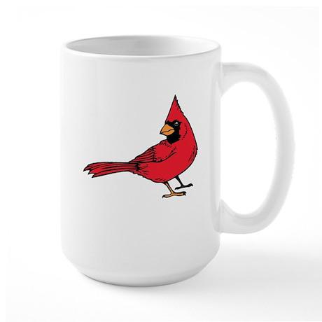 Red Cardinal Large Mug