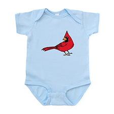 Red Cardinal Infant Bodysuit