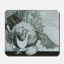 The Hungry Chicken Mousepad