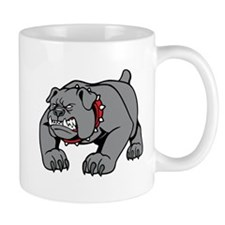 Mean Bulldog Mug