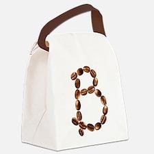 B Coffee Beans Canvas Lunch Bag