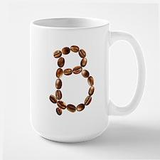 B Coffee Beans Large Mug