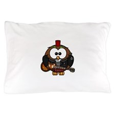 Rock Star Owl Pillow Case