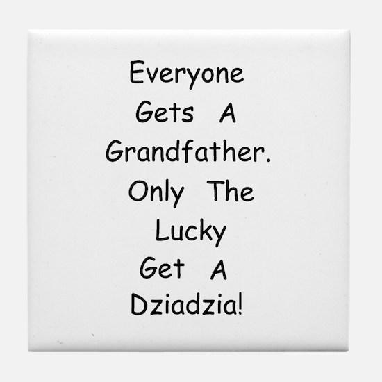 Dziadzia Tile Coaster