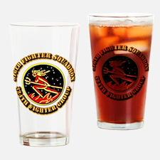 AAC - 316th FS, 324th FG Drinking Glass